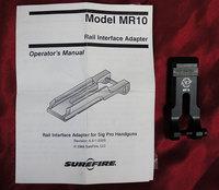 SUREFIRE MR-10 SIGPRO用