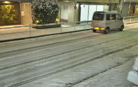 東京も大雪警報