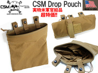 超特価!!6980円!!実物CSM DROP DUMP POUCH / Coyote