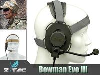 Z-TAC製 Z029 BOWMAN EVO IIIタクティカルヘッドセッ
