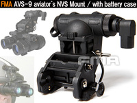 【FMA製】AN/AVS-9 NVG用 アビエイター ナイトビジョン マウント&バッテリーケース (ダミーレプリカ)