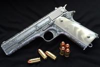 リアルマッコイ M1911 エングレーブ 完成!