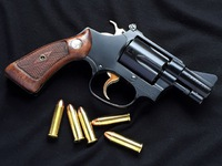 S&W M50 Target Square butt 完成!