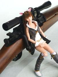 M1903にスコープを