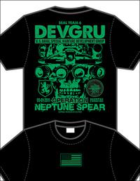 新作Tシャツ第1弾! DEVGRU & 160th SOAR