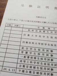 予備自衛官補試験