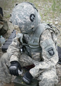 101st ラッカサンズ 第320砲兵連隊 第3大隊装備