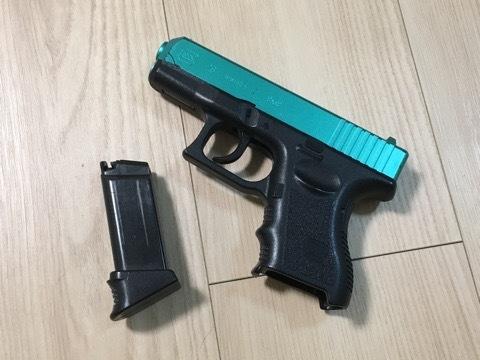 今回の愛銃紹介は『東京マルイ製 G26』になります。