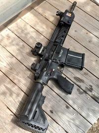 HK417でサバゲー