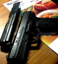 HK45のスライドストップ(´・ω・`)