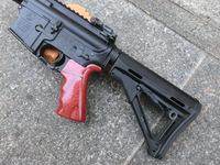 次世代AKS74N用ウッドハンドガードの製作と・・・
