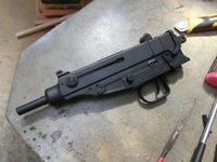 マルゼン vz61用ウッドグリップの製作と・・・