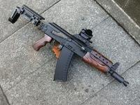次世代AKS74N用ウッドストックの製作と次世代AKS74U用ウッドハンドガードの製作!