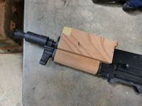 次世代AKS74U用ウッドハンドガードの製作とKAC PDWグリップの製作!