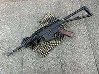 KAC PDWウッドグリップの完成と次世代AKS74U用ウッドハンドガードの完成!