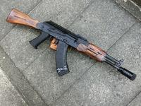 次世代AKS74N用ウッドハンドガードの製作!