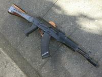 次世代AKS74N用レイルハンドガードとグリップの取り付け加工とAKS74U用サムホールハンドガードの製作!
