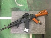 次世代AKS74U用折り畳みウッドストックの製作!