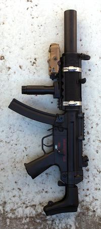 MP5 SD6 カスタムしてみる。