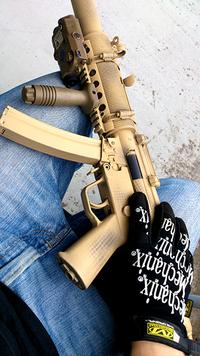 MP5 SD6 塗装してみる。
