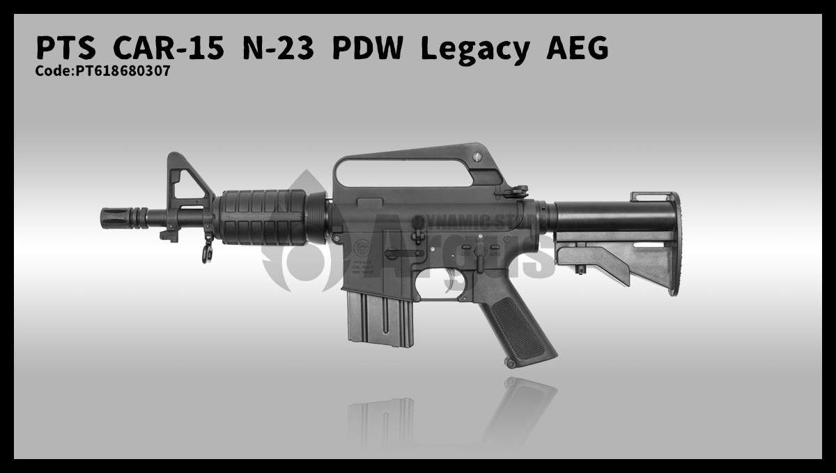 【PTS】CAR-15 N-23 PDW Legacy AEG予約開始しました!