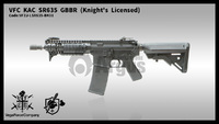 【VFC】KAC SR635 GBBR (Knight's Licensed)