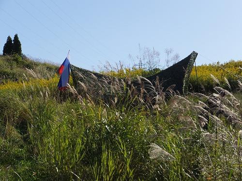 ロシア軍前哨基地