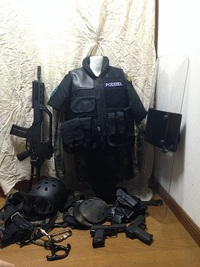 ドイツ警察系装備 その3