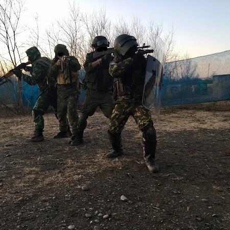 ロシア軍 突入作戦