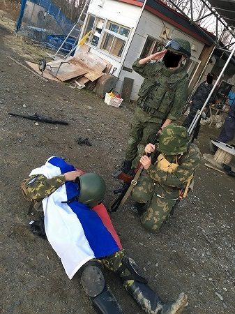 ロシア兵は死んだ