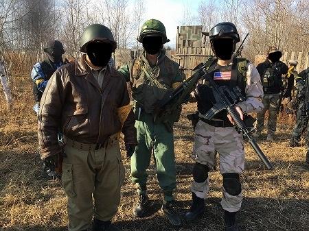 新旧アメリカ軍