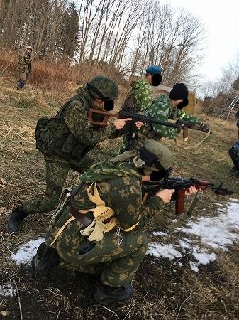 ロシア式散開戦術