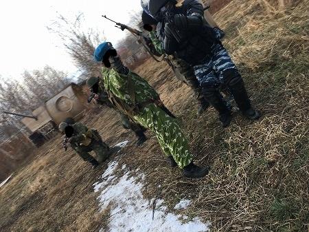 ロシア式散開戦術その2