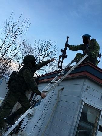 ロシア式狙撃チーム