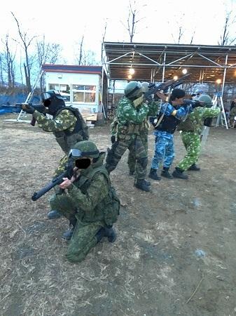 ロシア式突入作戦その2