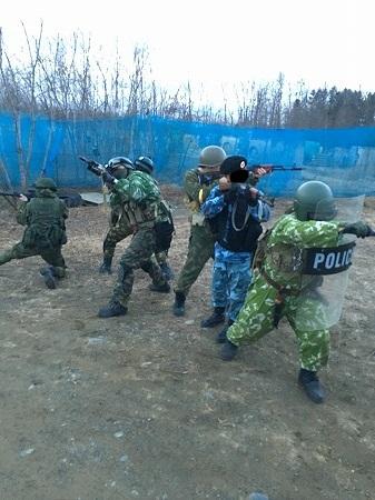 ロシア式突入作戦