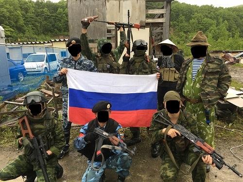 砦でもロシア祭り