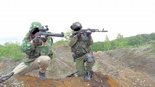 狙撃チーム