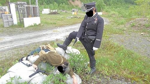 公然猥褻罪で極刑