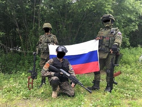 今日もロシア合わせ