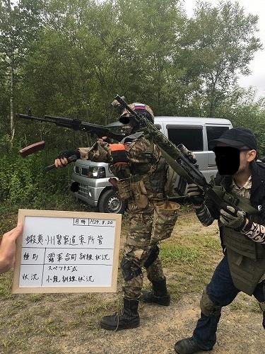小銃訓練状況