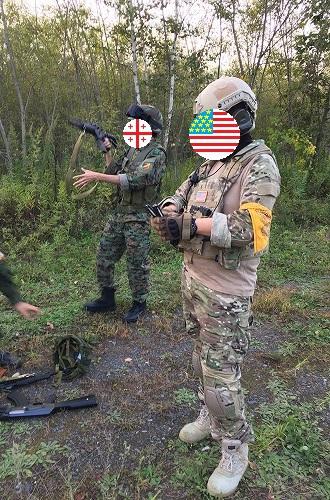 アメリカの増援