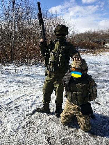 ウクライナ捕獲