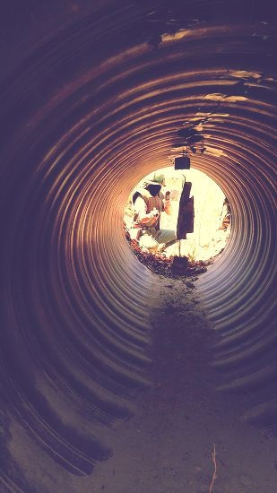 クチトンネルは観光名所らしいよ