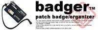 HAZARD4 BADGER PATCH BADGE・ORGANIZER
