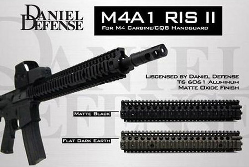 MADBULL製【Daniel Defenseタイプレイルレプリカ】 M4A1Mk18 RIS II 12.25インチ