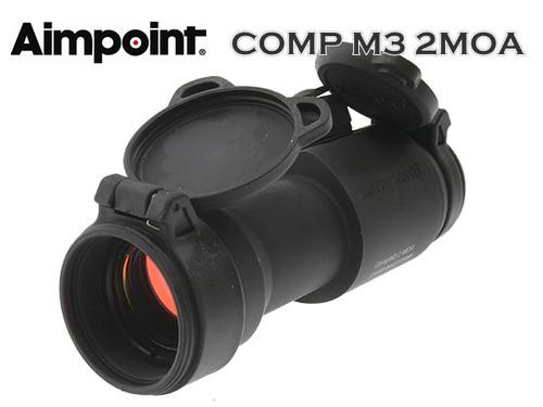 実物新品!!【Aimpoint】COMP M3 2MOA (実物軍用ドットサイト)