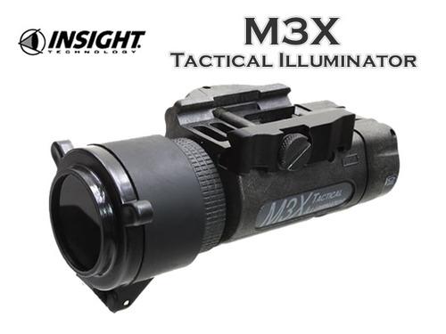実物【INSIGHT】 M3X タクティカルイルミネーターIRフィルター付属(軍納品仕様)