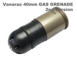 【Vanaras製40mmカート1個おまけ!!】ICS社製 GLM グレネードランチャー(MGL140タイプリボルバーランチャー)