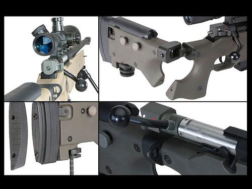 ARES製 AW338 コッキング式エアガン ボルトアクションライフル (CNCバージョン)